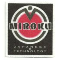 Parche textil MIROKU 5,5cm x 6,5cm