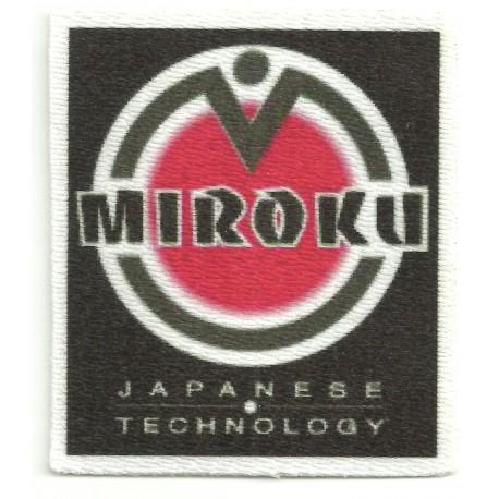 Textile patch MIROKU 7cm x 6,5cm