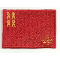 Patch embroidery FLAG MURCIA 4CM X 3CM