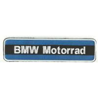 Parche bordado BMW MOTORRAD AZUL 26cm x 6,5cm