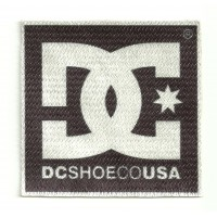 Textile patch DC SHOES 10cm x 10cm