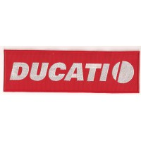 Patch embroidery DUCATI 23cm x 7cm