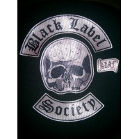Parche textil BLACK LABEL SOCIETY PACK 4 40cm x 53cm