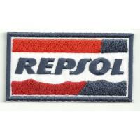 Parche bordado REPSOL 8cm x 4.5cm