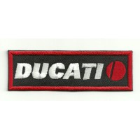 Patch embroidery DUCATI NEGRO 9cm x 3cm