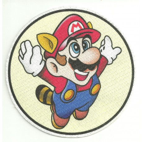 Textile patch MARIO BROS 7,5cm