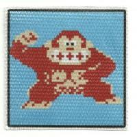 Textile patch DONKEY KONG 7,5cm