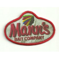 Embroidery and textile patch MANN´S MANNS 8cm x 5,5cm