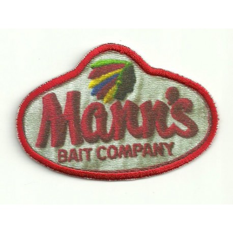 Embroidery and textile patch MANN´S 8cm x 5,5cm