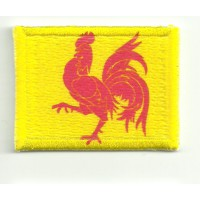 Patch textile and embroidery VALONIA 4cm x 3cm