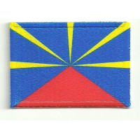 Patch embroidery and textile REUNION ISLAND 4CM x 3CM