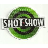 Parche textil SHOT SHOW 8cm x 6,5cm