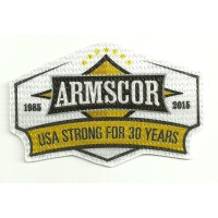 Textile patch ARMSCOR 30 YEARS 9cm x 6cm