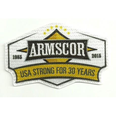 Textile patch ARMSCOR 30 YEARS 9cm x 6cm
