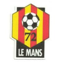 Textile patch LE MANS 6cm x 8,5cm