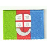 Patch embroidery and textile RIOMAGGIORE 4cm x 3cm