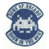 Parche textil SONS OF ARCADE 10cm x 8,5cm