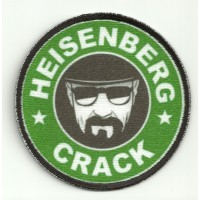 Patch embroidery end textile HEISENBERG 7,5cm