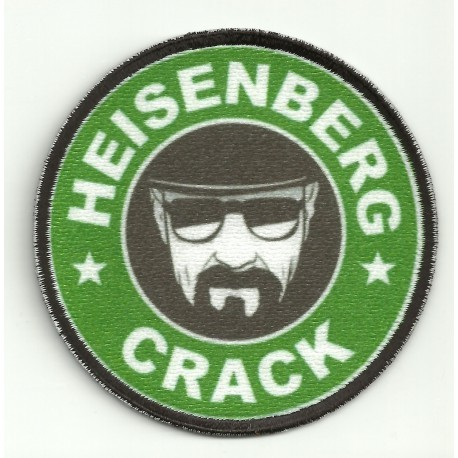 Parche bordado y textil HEISENBERG 7,5cm