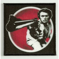 Patch embroidery and textile DIRTY HARRY 7,5cm x 7,5cm