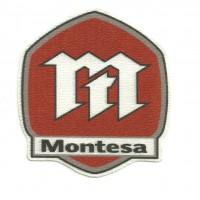 Textile patch MONTESA 7cm x 8cm