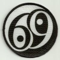 Parche bordado y textil 69 7,5cm
