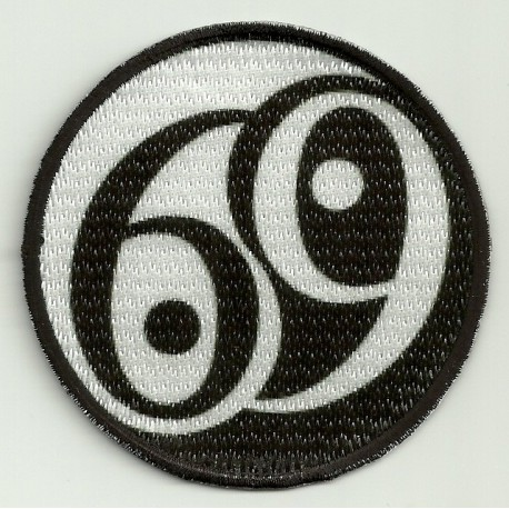 Patch embroidery and textile 69 7,5cm
