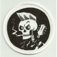 Patch embroidery and textile ROCKABILLY 7,5cm