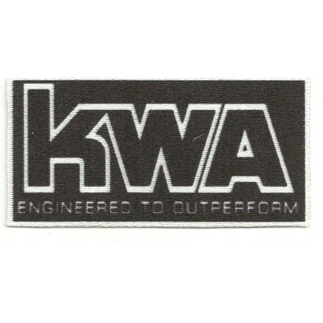 Textile patch KWA 9cm x 4,5cm