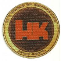 Parche textil HECKLER & KOCH 7,5cm diametro