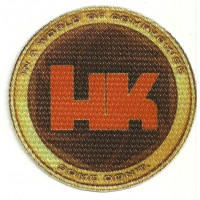 Textile patch HECKLER & KOCH 7.5cm diameter
