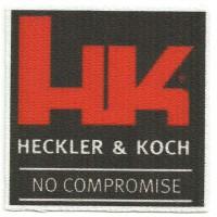 Parche textil HECKLER & KOCH 7cm x 7cm