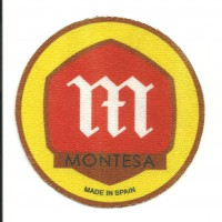 Textile patch MONTESA MADE IN SPAIN 7.5cm