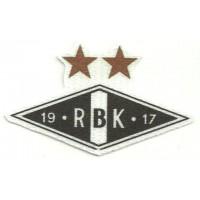 Textile patch RBK - ROSENBORG 7,5cm x 4,5cm