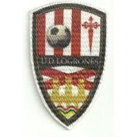 Textile patch U.D. LOGROÑES 4,5cm x 7,5cm