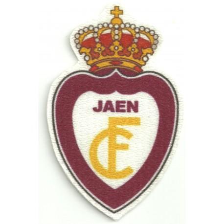 Parche textil REAL JAEN C.F. 5cm x 8,5cm