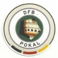 Parche textil DFB - POKAL 7cm diametro