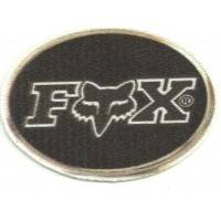 Textile patch FOX LOGO OVAL 8cm x 5,5cm