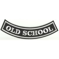 Emroidery patch OLD SCHOOL 25cm x 8cm