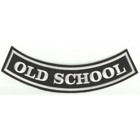 Emroidery patch OLD SCHOOL 25cm x 8cm