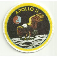 Parche textil APOLLO 11 6cm diametro