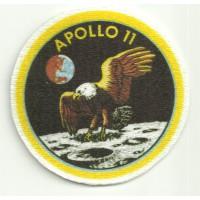 Textile patch APOLLO 11 6cm diametre