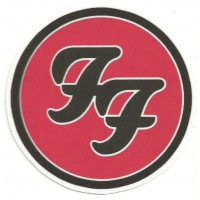 Textile patch FOO FIGHTERS 25cm diametre