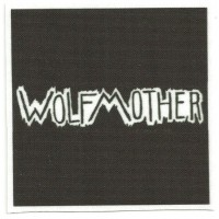 Textile patch WOLFMOTHER 9cm x 9cm