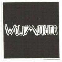 Parche textil WOLFMOTHER 25cm x 25cm