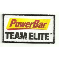 Parche bordado y textil POWERBAR - TEAM ELITE 8,5cm x 4,5cm
