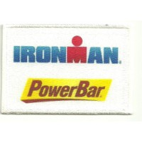 Embroidery and textile patch POWERBAR - TEAM ELITE 8,5cm x 4,5cm