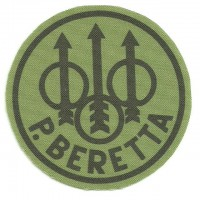 Textile patch BERETTA LOGO 7.5cm DIAMETRE