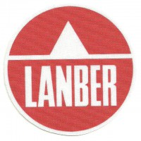 Textile patch LANBER 7.5cm DIAMETRE