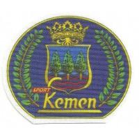 Textile patch KEMEN 7cm x 6 cm